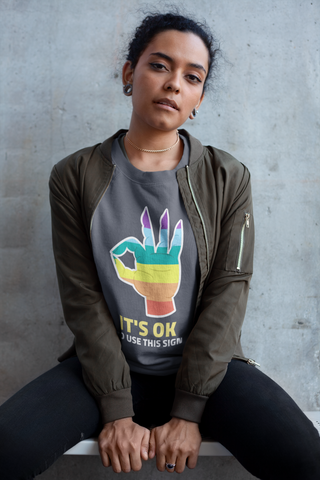 It's Okay To Use This Sign Sweatshirt