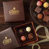 X-Mas Chocolate Box of 6