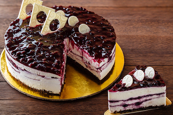 Blue Berry Cold Cheese Cake