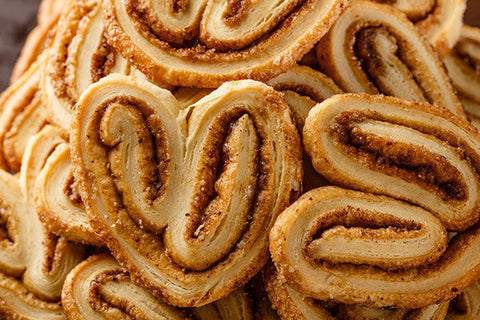 Cinnamon French Heart Biscuit