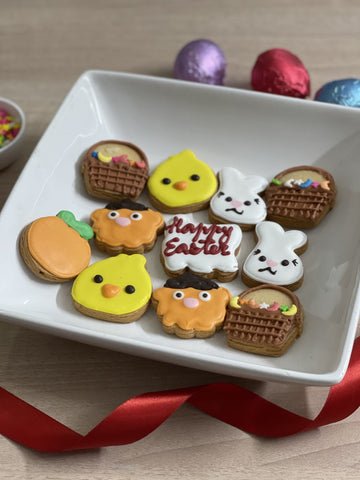 Easter small cookie set