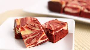 Red Velvet Cream Cheese Frosting Brownie