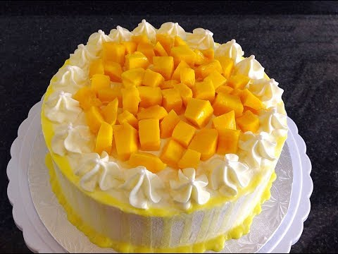 Seasonal Mango Cake
