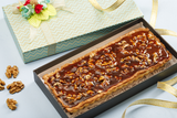 Caramel  walnut tart box