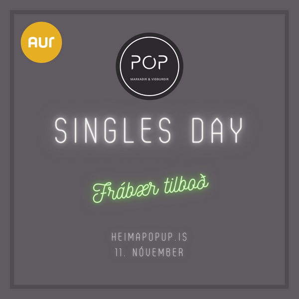 artless.is tekur þátt í Singles Day á Heimpopup.is