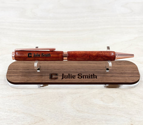 Engraved Handcrafted Wooden Pens/Mechanical Pencils