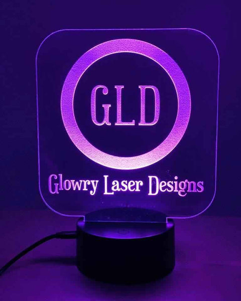 Customized Engraved LED Night Light