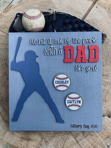 Wooden Father's Day Sign