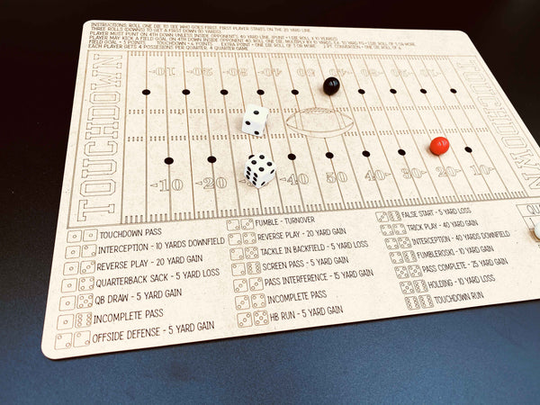 Football Dice Game