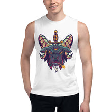 Load image into Gallery viewer, Baphomet tank Shirt