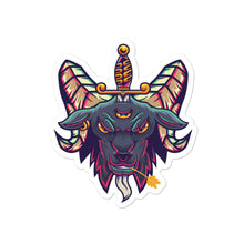 Load image into Gallery viewer, Baphomet Bubble-free stickers