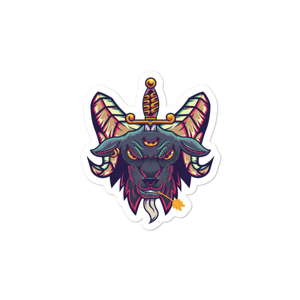 Baphomet Bubble-free stickers