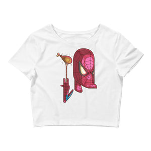 Spiderman Women's Crop Tee