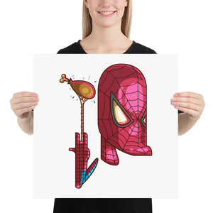 spiderman Photo paper poster