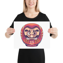 Load image into Gallery viewer, Daruma Photo paper poster