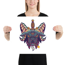 Load image into Gallery viewer, Baphomet Photo paper poster
