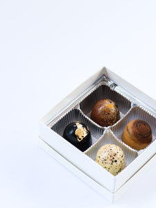 #BakersAgainstRacism 4-Piece Bonbon Box