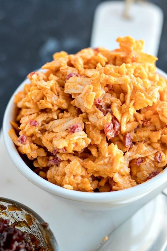Pimento & Cheese Dip with Bacon Marmalade (NF)