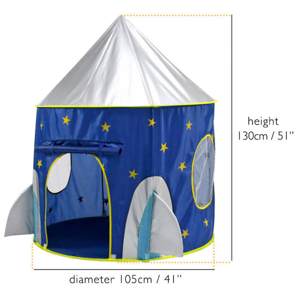 ROCKET OUTER SPACE PLAY TENT