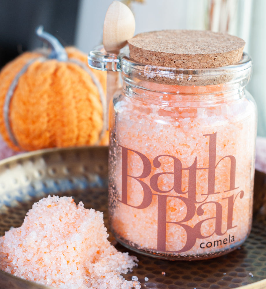 Pumpkin Aphrodisiac Bath Salts