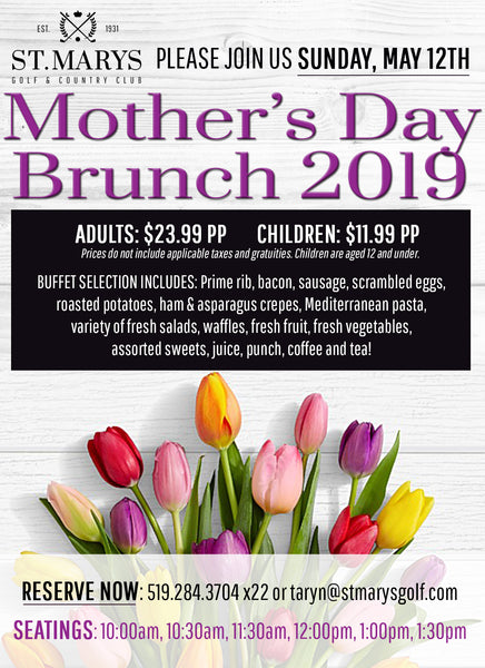Mother's Day Brunch | 2019