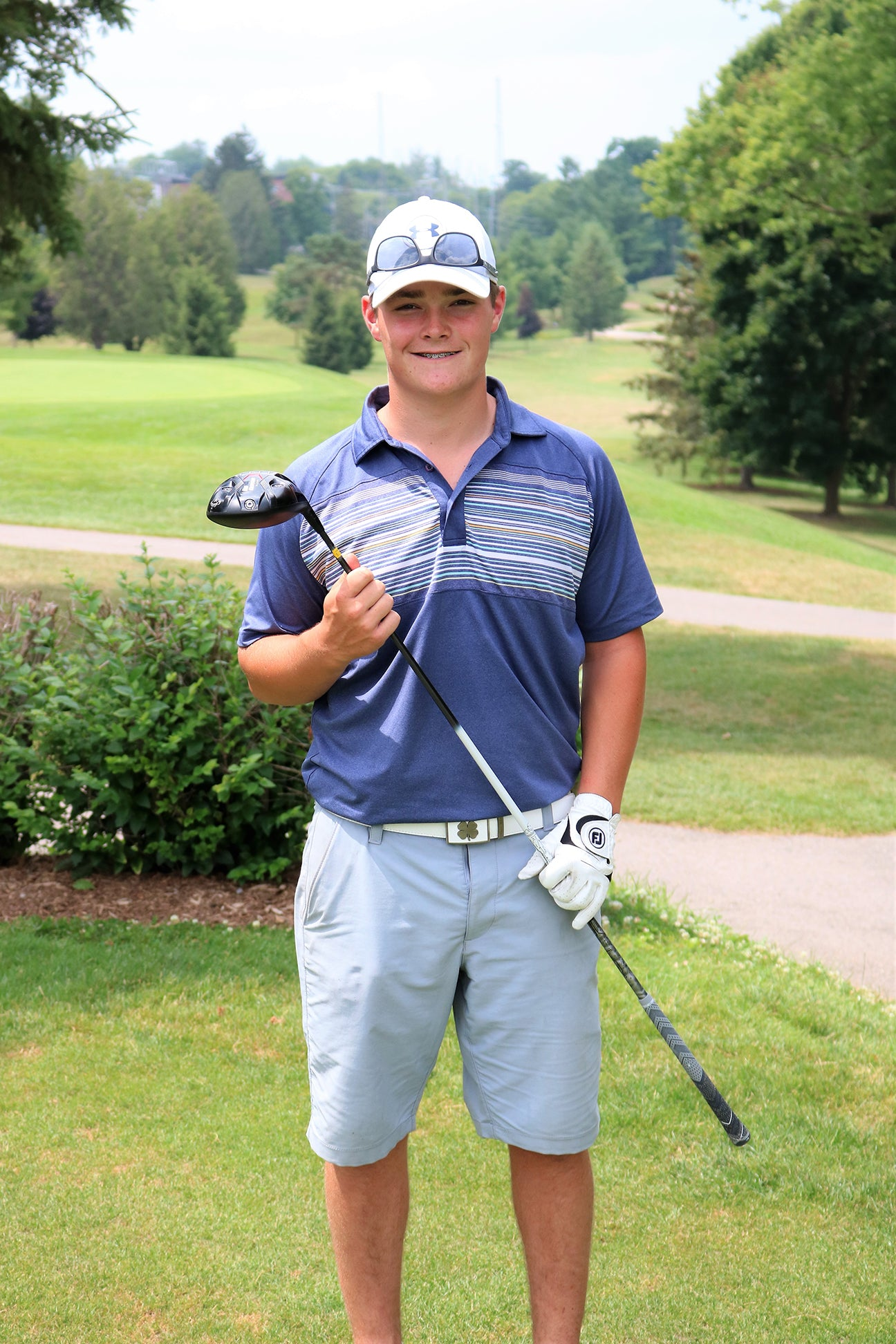 Club Junior Golfer Plays PGA National in Florida