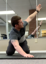 Golf Fitness Exercise | Quadruped Thoracic Rotations