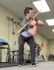 Golf Fitness Exercise | Thoracic Rotations with Hip Hinge