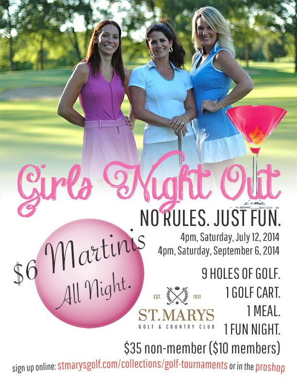 Girl's Night Out | Fun Ladies Golf Event