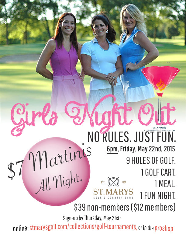 Girls Night Out Ladies Golf Event