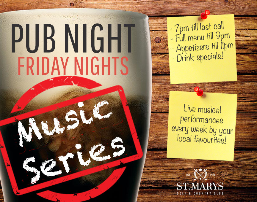 Pub Nights St. Marys Live Music