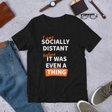 Social Distancing Thing Short-Sleeve Unisex T-Shirt