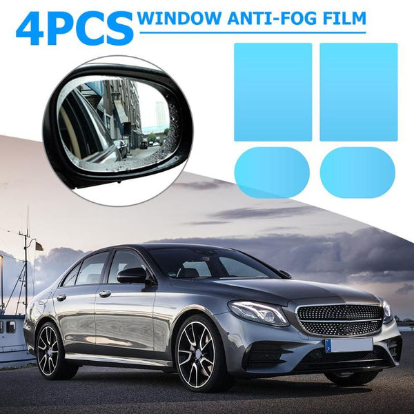 Anti-Fog Safety Film for Car Mirrors