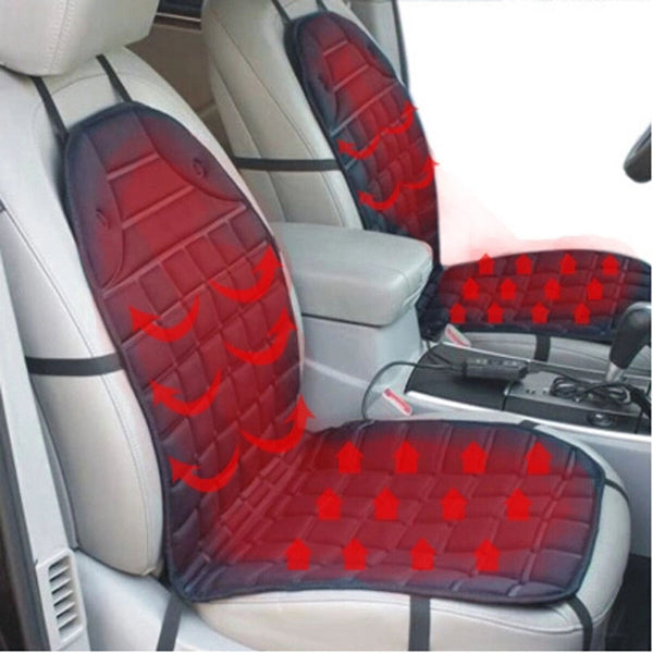 Car Seat Warmer - Universal Heated Car Seat Cover Set
