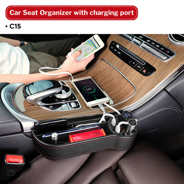 Multi-Functional Organizer For Your Car