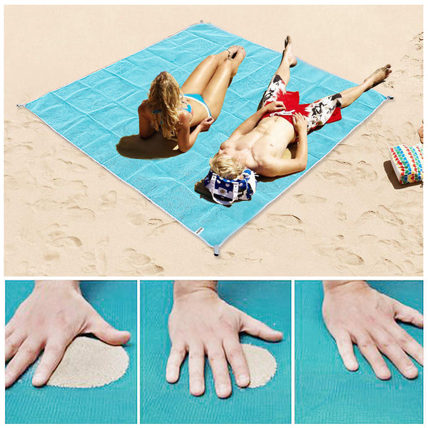 Sand-Free Quick-Dry Beach Blanket