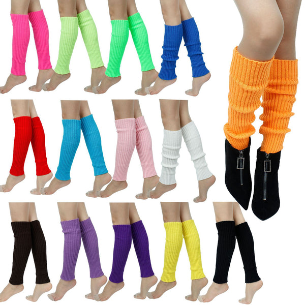 Colorful Winter Legwarmers