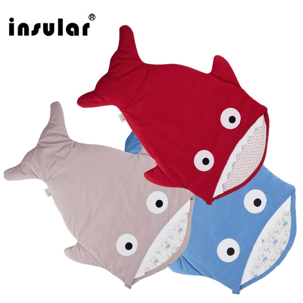 Super Soft Baby Shark Sleeping Bag