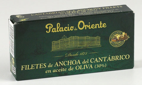 Anchovy Tin 48g Cantabrian Sea