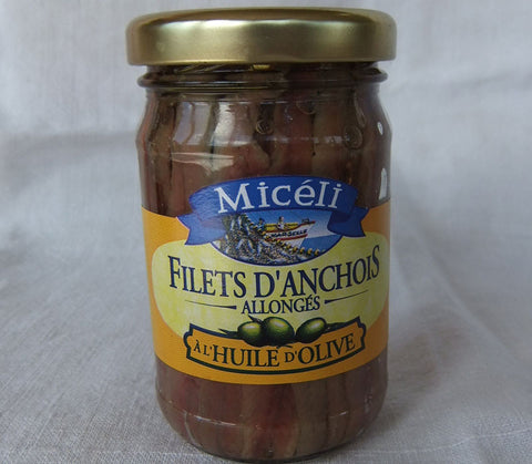 Anchovy Fillets Jar 105g