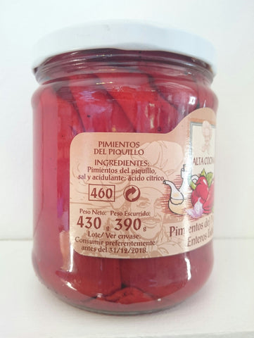 Piquillo Peppers 430g jar