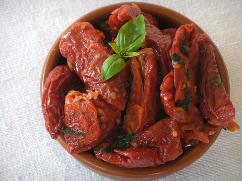 Italian Marinated Sun Dried Tomatoes