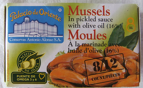 Mussels 8-12 Pieces 120g