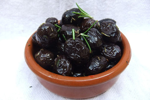 Herbes De Provence Dressed Black Olives