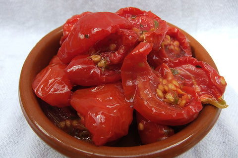 Semi Dried Tomatoes From Sicily