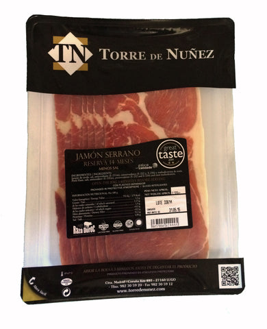 "Sliced Jamon Serrano Reserva ""Duroc Breed"" 100g"