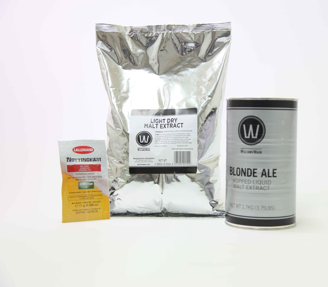 Kit WW Blonde Ale 25L