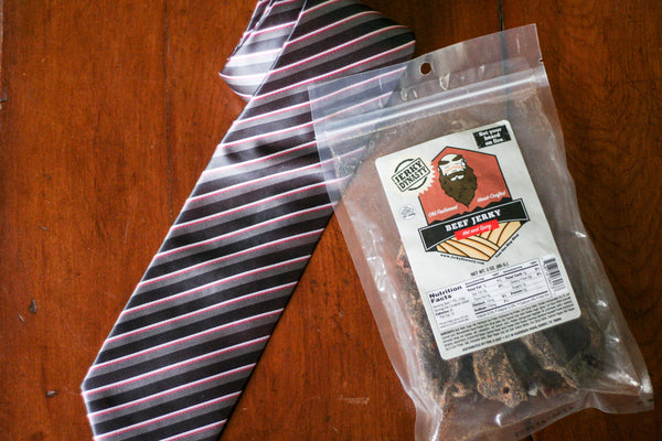 Skip the tie, go for Jerky!