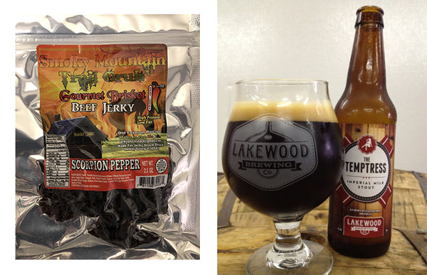 Scorpion Pepper Jerky Lakewood Temptress