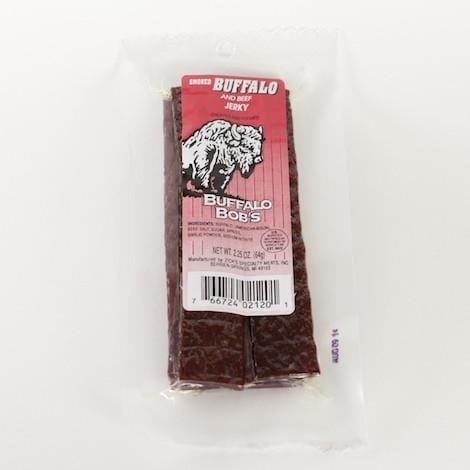 Buffalo Jerky Snack Pack